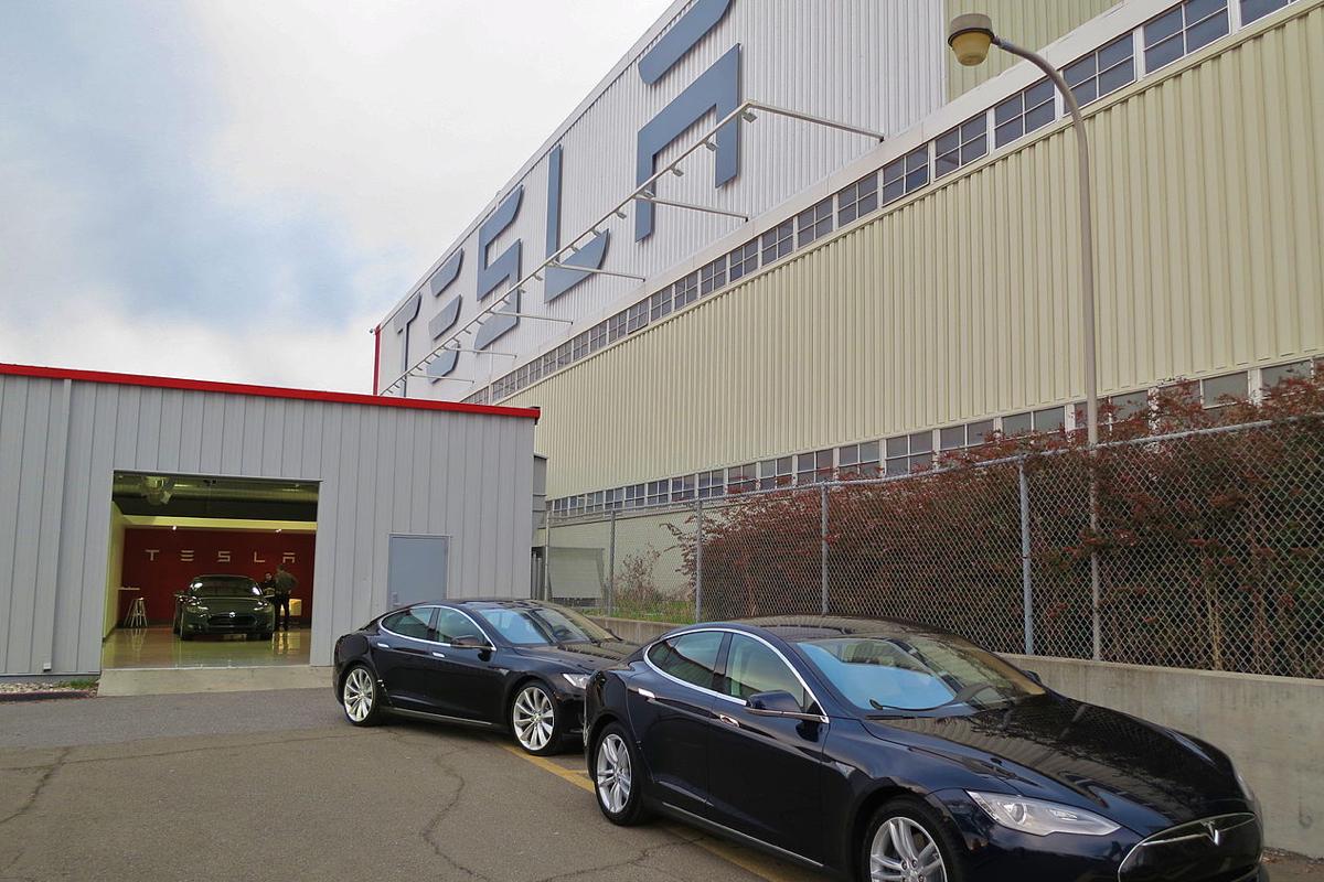 Tesla Fremont CA Factory