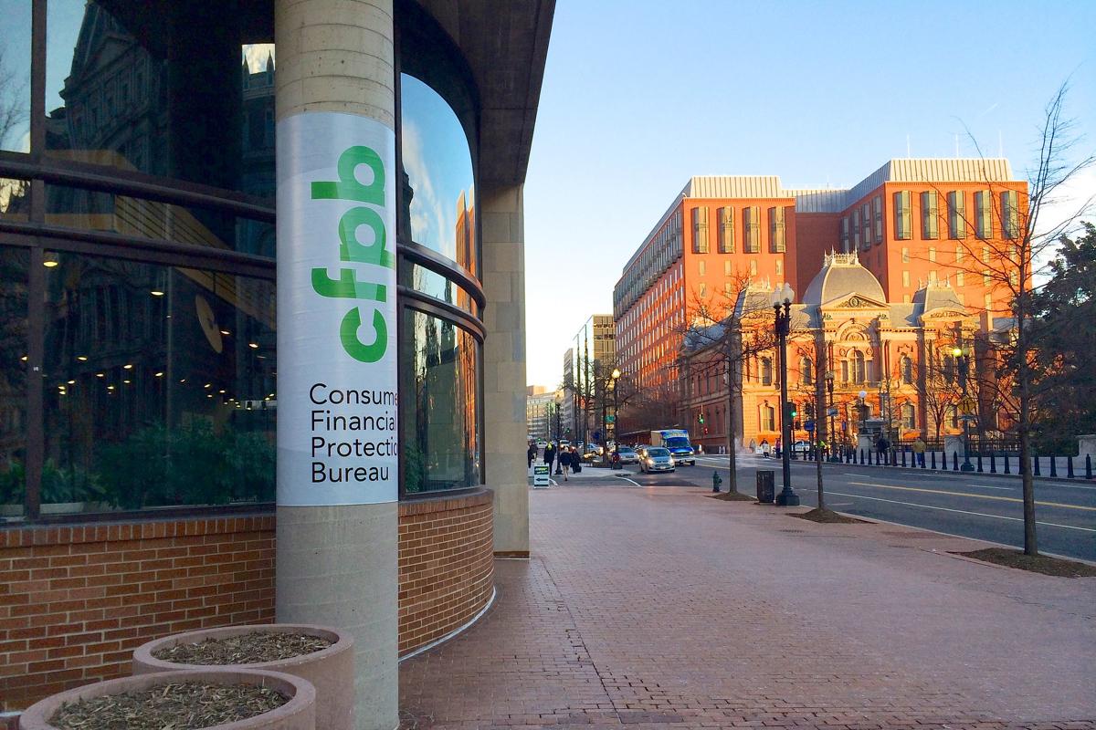 CFPB Building in D.C.
