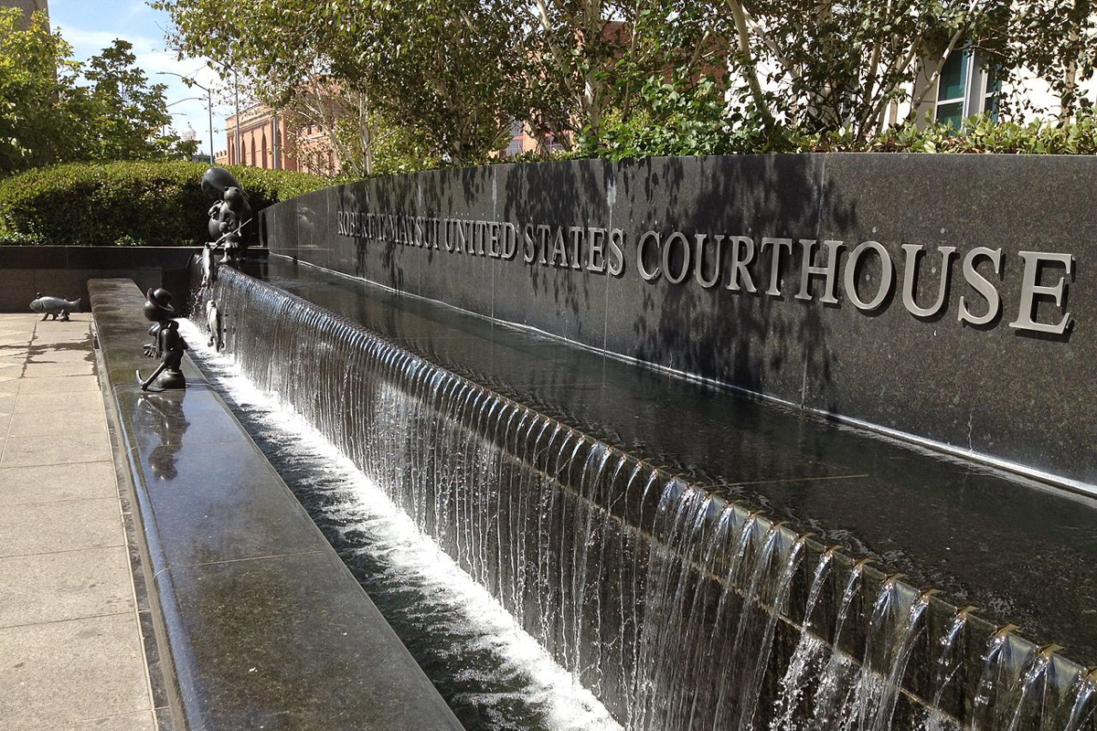 Robert T. Matsui Courthouse Fountain